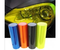 "Headlight Taillight Tint Film Yellow 15.75""x 48""inch (30cm x 120cm)"