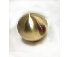 Shift Knob Gold Polished Weighted Gear Stick Universal Shift Knob With (8mm, 10mm, 12mm) Thread Adaptors