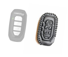 Leather Case for Compustar T15, 2Way Remote leather case