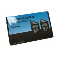 Compustar 1-way G6 remote starter keyless entry system with 2 Remotes 1WG6AMR