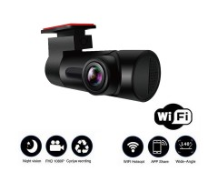 Dash Cam 1080P HD Recorder DVR Car Camera With WiFi Night Vision