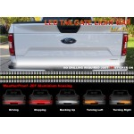 """Tailgate Light Bar with Running, Brake, Reverse, Sequential Turn Signals 60"""" LED"""