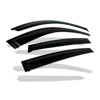 Window side deflectors Visors for 2006-2011 Honda Civic 4DR Sedan